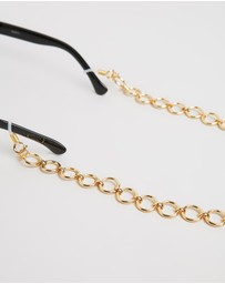 Lele Sadoughi - Oversized Circle Sunglasses Chain