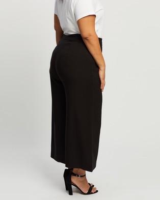 Atmos&Here Curvy Naomi Pants - Pants (Black)