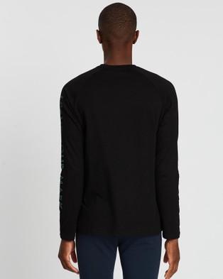 Doyoueven - Blueprint Long Sleeve Tee - Long Sleeve T-Shirts (Black) Blueprint Long Sleeve Tee