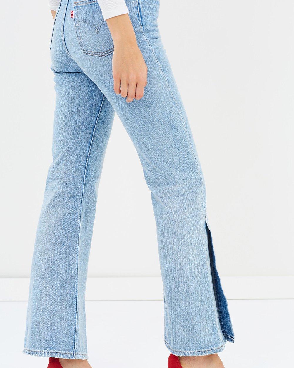 1f2f500c0c0878 Ribcage Split Flare Jeans by Levi's Online | THE ICONIC | Australia