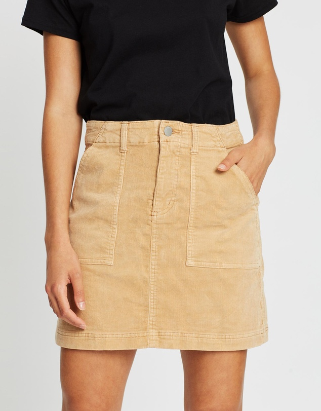 All About Eve - 70's Cord Mini Skirt