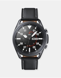 Samsung - Galaxy Watch 3 Black Bluetooth 45mm