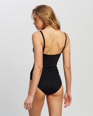 St. Swim Cuba Belted One Piece - One-Piece / Swimsuit (Black)