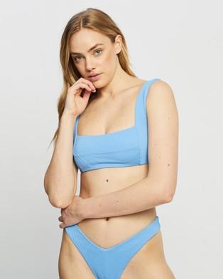 Fella Swim Franco Bikini Top - Bikini Tops (Sea Blue)