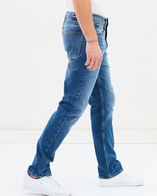 Calvin Klein Jeans Straight Fit Jeans - Jeans (Houston Mid Blue)