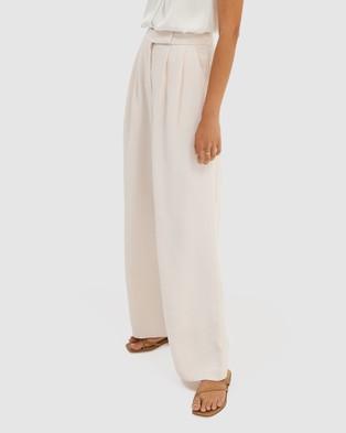 SABA Dharma Wide Leg Pants - Pants (Pale Rose)