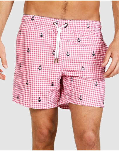 Ortc Clothing Co. Robe Shorts Pink