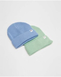 Cotton On Kids - Winter Knit Beanie - 2 Pack - Kids