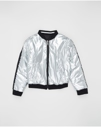 Karl Lagerfeld - Reversible Bomber Jacket - Kids-Teens