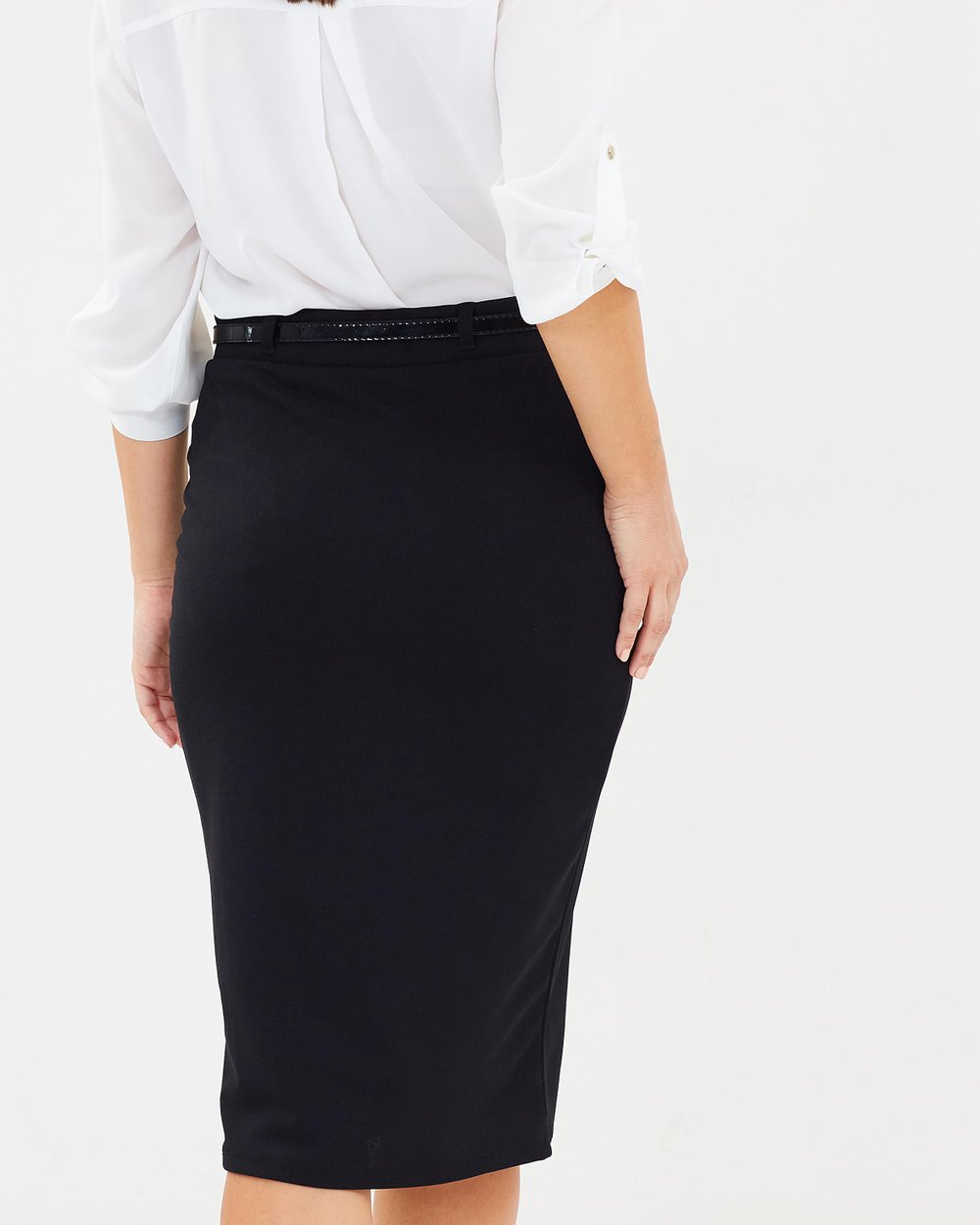 92fc7f5da4 Belted Pencil Skirt by Dorothy Perkins Online | THE ICONIC | Australia