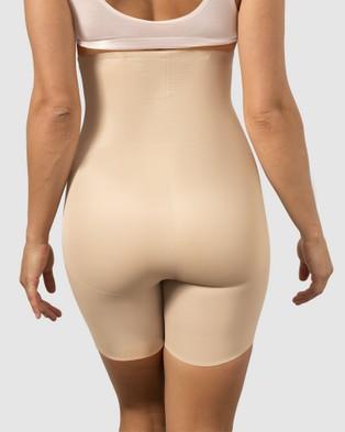 Miraclesuit Shapewear Back Magic Hi Waist Long Leg - Lingerie (Nude)