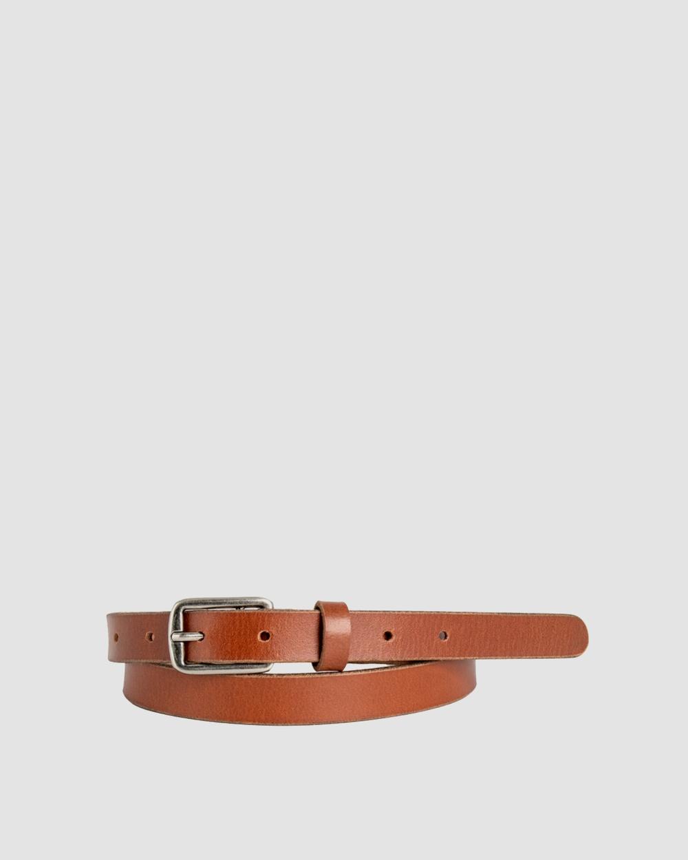 Loop Leather Co Cloe Belts Chestnut
