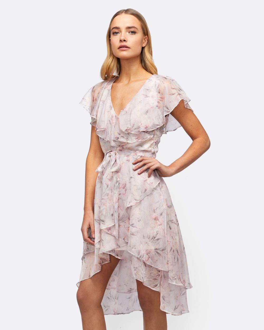 MVN Love Fool Dress Printed Dresses pink Love Fool Dress