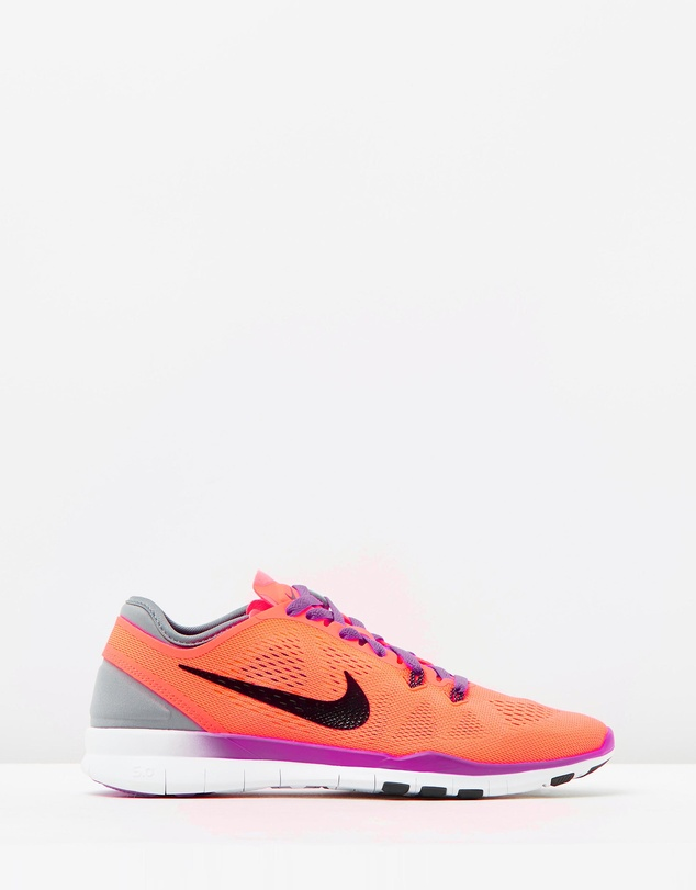 competitive price ec2fc dee6f Nike Free 5.0 TR Fit 5 in Neon Orange