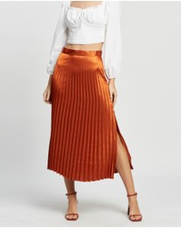 MINKPINK - Wonderlust Pleat Skirt