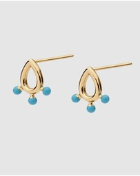 Dear Addison - Kids - Aqua Waters Studs