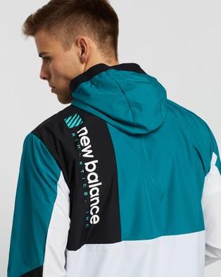 New Balance R.W.T. Lightweight Woven Jacket - Coats & Jackets (Team Teal)
