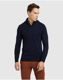Oxford - Digby Donegal Shawl Neck Knit