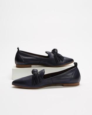 Bueno - Bestie Ballet Flats (Navy)