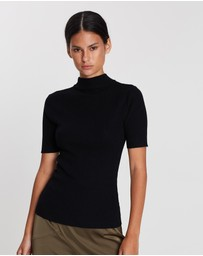 FRIEND of AUDREY - Fillipa Basic Knit Top