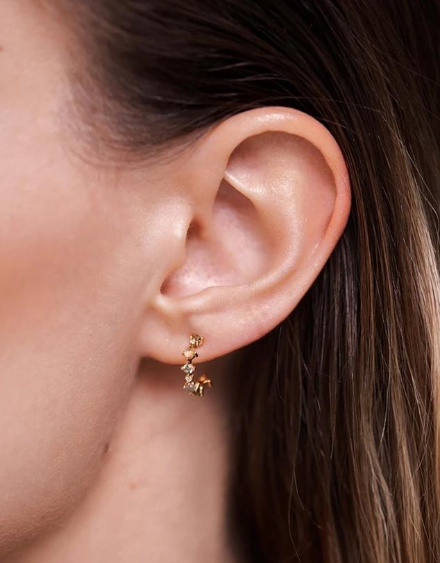Women Glory Gold Earrings