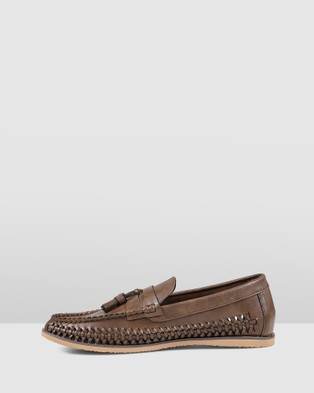 JM Benjamin - Dress Shoes (Brown/Gum)