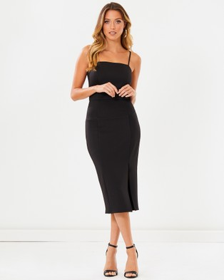 Calli – Frankie Dress Black