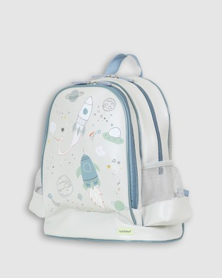 Bobbleart Large Backpack Space - Backpacks (Light Grey)