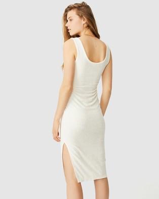 Cotton On Tessa Tank Dress - Bodycon Dresses (Seashell White)
