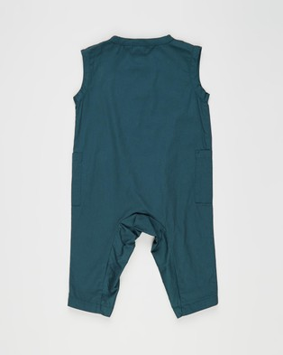 Cotton On Baby Pierre All In One   Babies - Sleeveless (Petrol Teal)