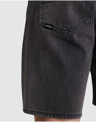 Superdry 05 Conor Taper Shorts Marleowe Washed Black