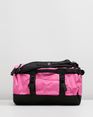 The North Face Base Camp Duffel   XS - Outdoors (Mr. Pink & TNF Black)