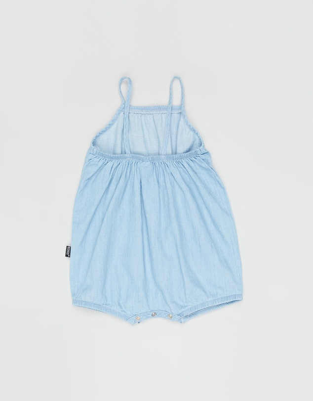 Bonds Baby - Chambray Stretchies Bubblesuit - Babies
