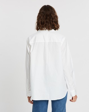 Levi's The Ultimate BF Shirt - Tops (Bright White)