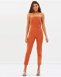 FRIEND of AUDREY - Veronika Satin Jumpsuit
