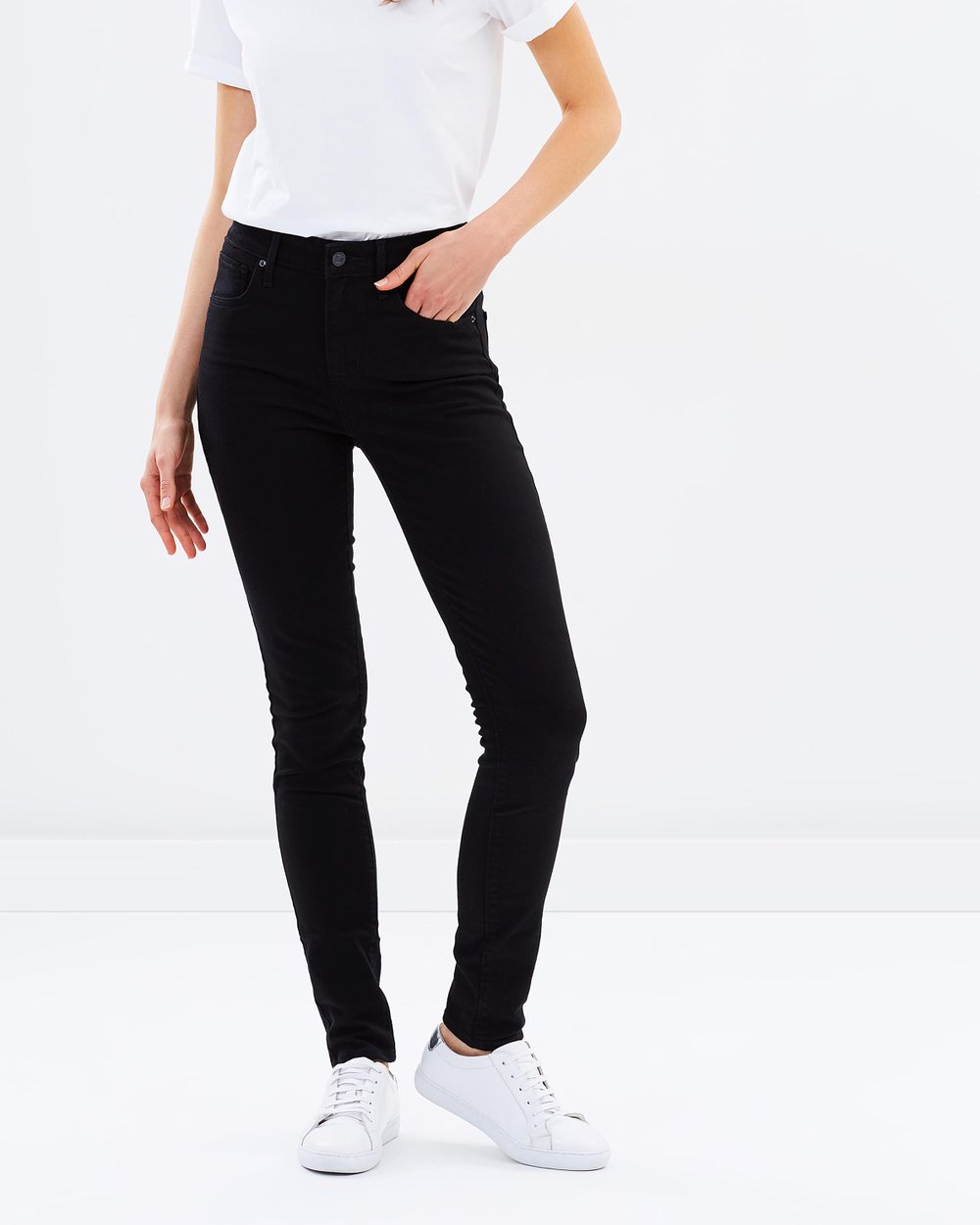 660374c6 721 High-Rise Skinny Jeans by Levi's Online | THE ICONIC | Australia