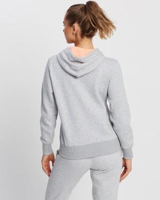 New Balance Fleece Full Zip Hoodie - Hoodies (Athletic Grey)