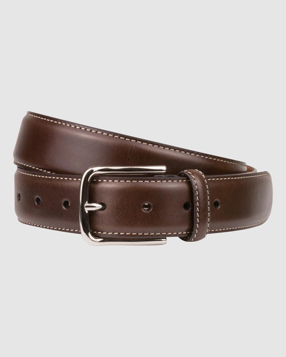 Florsheim Cruise Belt Belts Dark brown