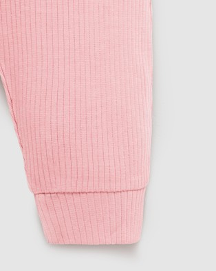 Purebaby Rib Leggings   Babies - Pants (Dusty Rose)