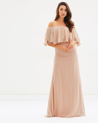 Esther – Petunia Dress – Bridesmaid Dresses Pink