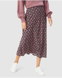 French Connection - Boho Floral Midi Skirt
