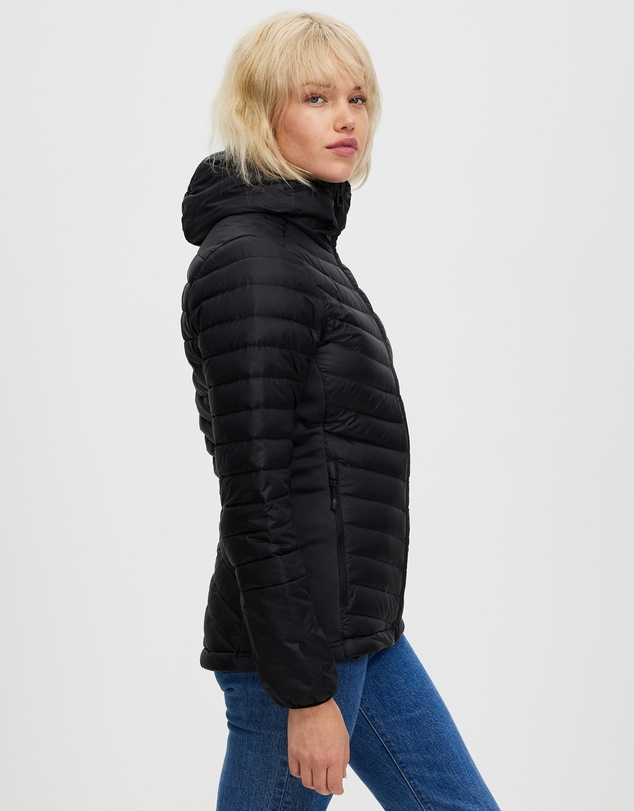 Women Verglas Hooded Down Hybrid Insulator Jacket