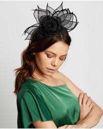 Max Alexander - Large Sinamay Flower Fascinator
