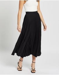 Staple the Label - Avery Pleated Midi Skirt