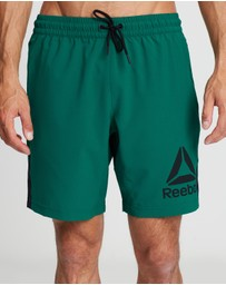 Reebok Performance - Workout Ready Woven Graphic Shorts