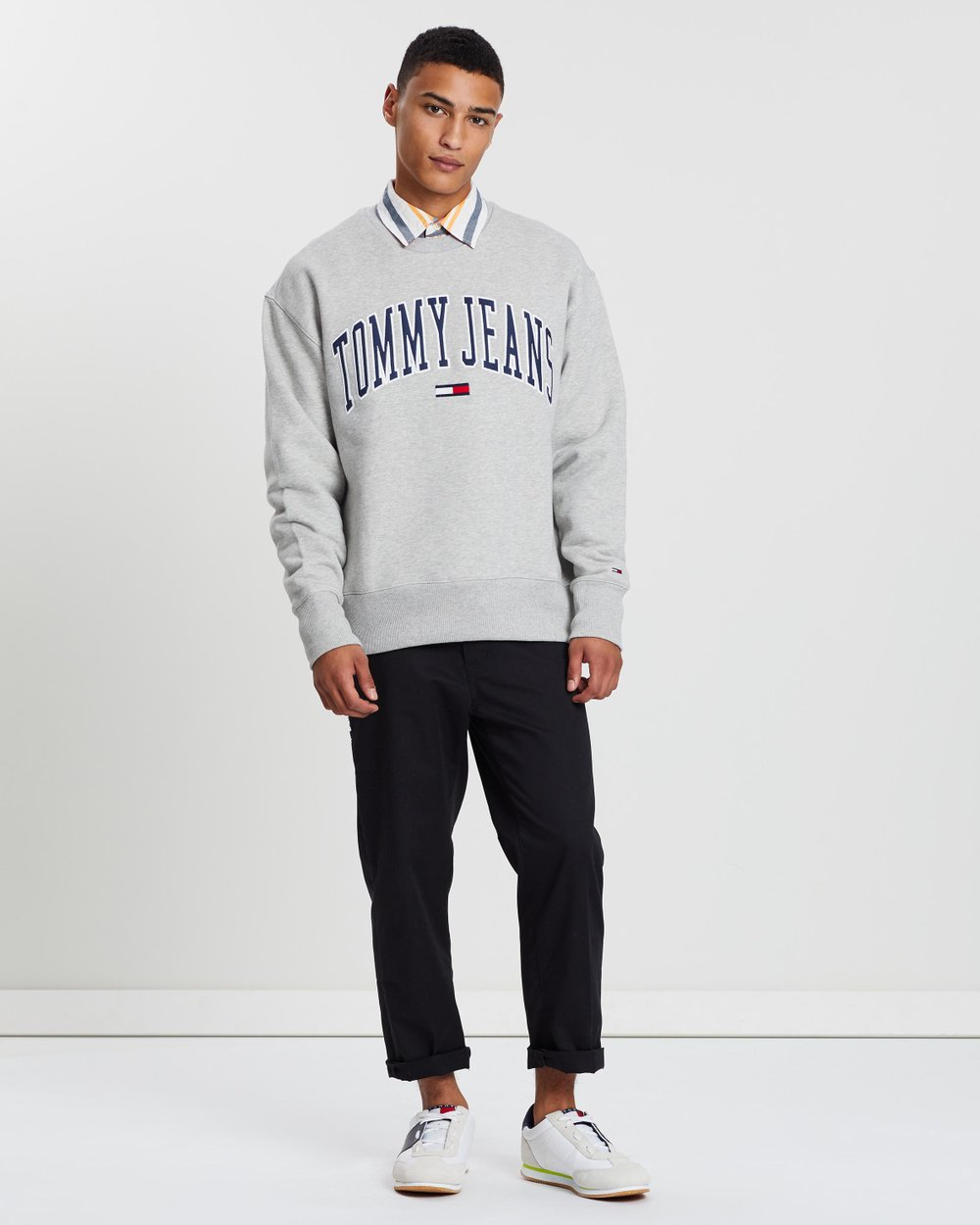 f46ae565 Clean Collegiate Crew Sweatshirt by Tommy Jeans Online | THE ICONIC |  Australia