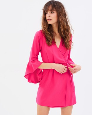 Dorothy Perkins – Wrap Dress Pink