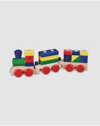 Melissa & Doug - Wooden Stacking Train