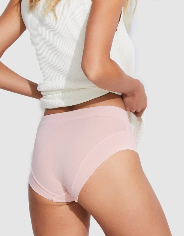 Women 2 Pack Next Level Lyocell Mid Rise Brief