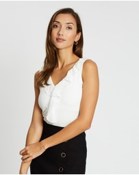 Forcast - Emmy Ruffle Top